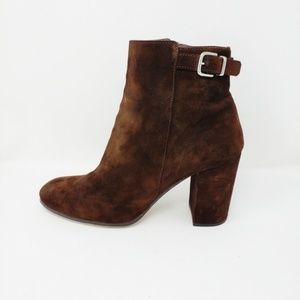 J. Crew Barrett suede ankle boots Size 8